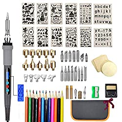 75 Piece Wood Burning Set