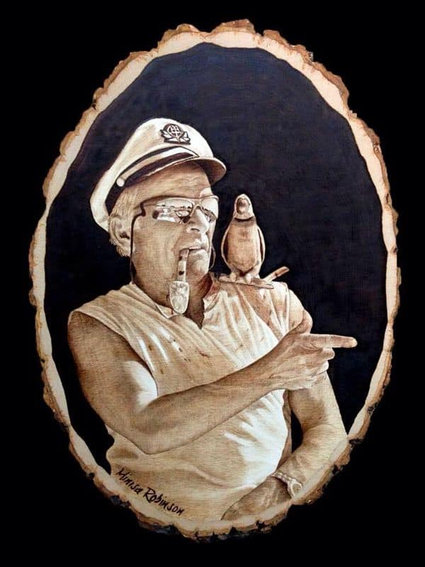 Pyrography Sailor