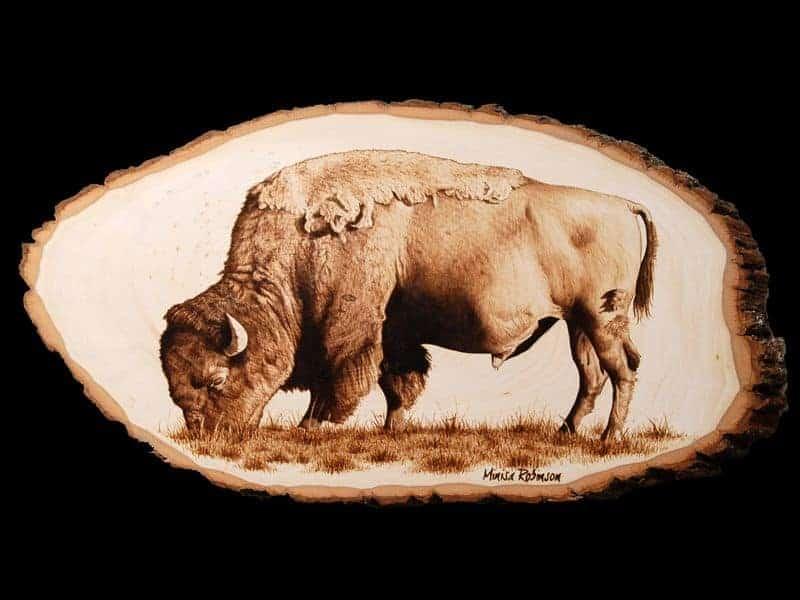 Pyrography Buffalo